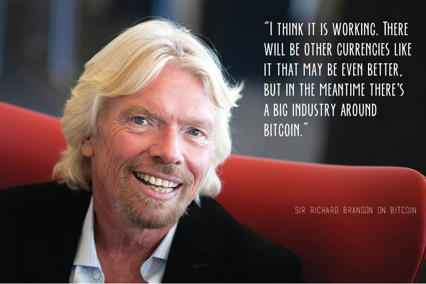 Richard Branson zu Botcoin